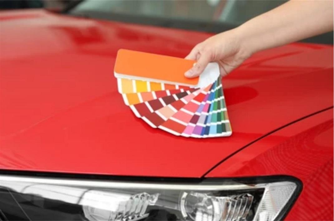 choix peinture voiture