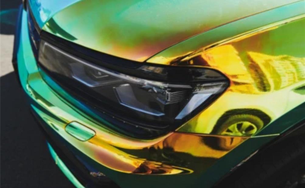 peinture tendance voiture